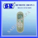 2.รีโมทแอร์ SP-338E 200 ช่องสัญญาณ